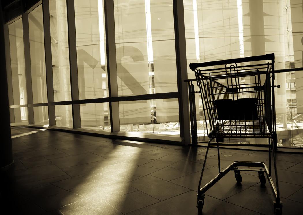 abandoned shopping carts