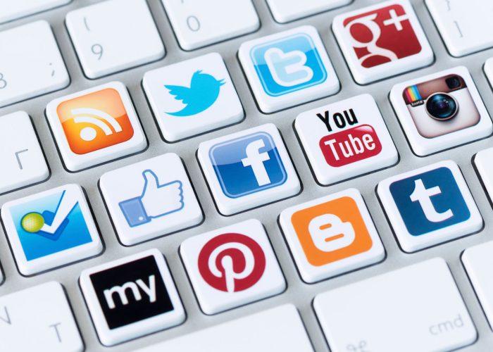 Happy Sharing! Social Media Buttons