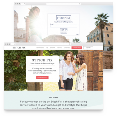 """Online sites like <a href=""https://www.stitchfix.com"" target=""_blank"">stichfix.com</a> and LyonandPost.com are examples of companies who have mastered the art of personalization in personal shopping."""